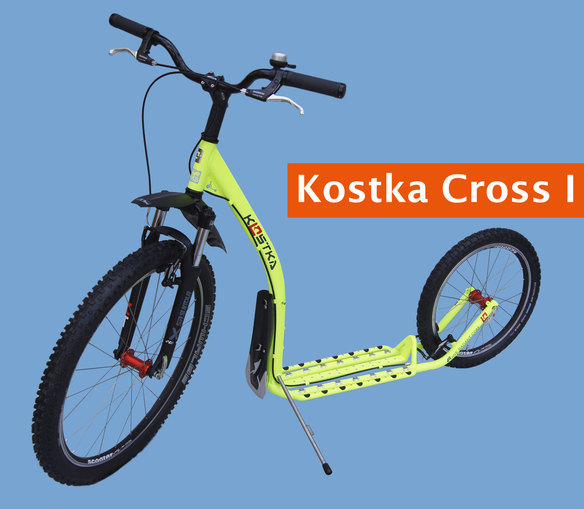 Dogscooter / Tretroller Kostka Fairbanks Cross I
