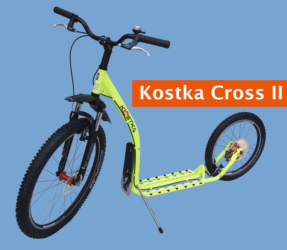 Dogscooter / Tretroller Kostka Fairbanks Cross II