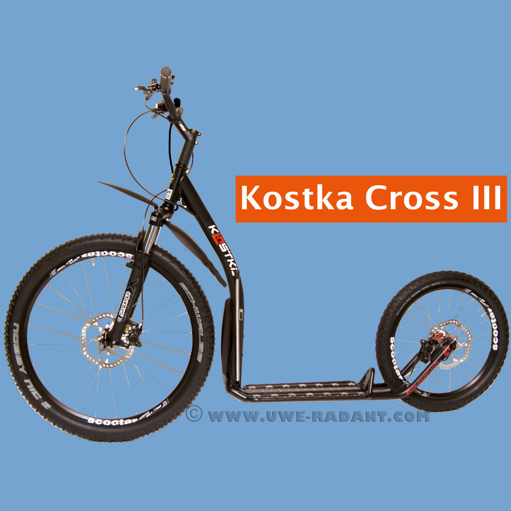 Dogscooter / Tretroller Kostka Fairbanks Cross III Basic